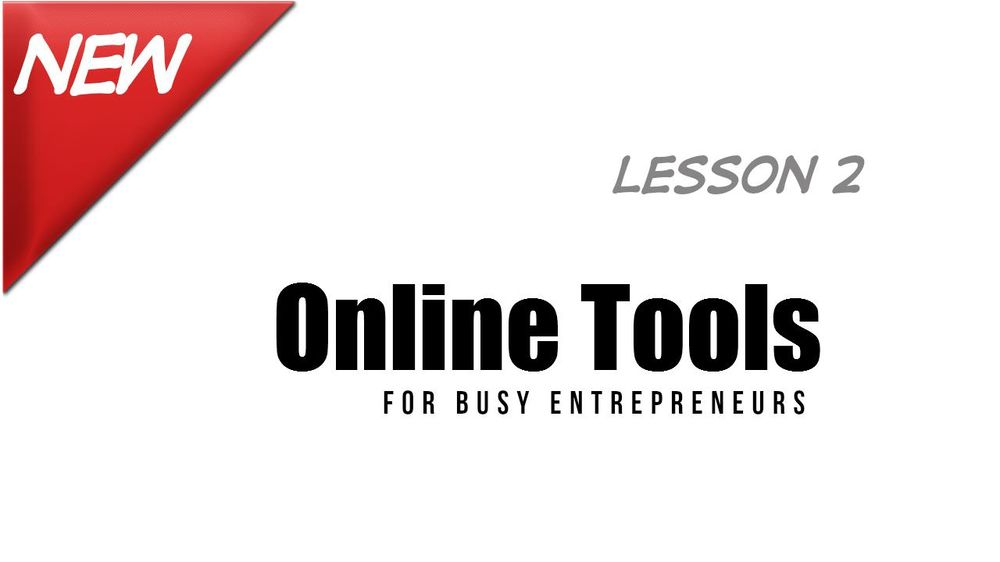 PUBLISHED - Three Month Channel Challenge: Project 3 - Online Tools for Busy Entrepreneurs (2) - image 1 - student project