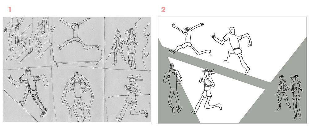 The Runners, The Yogis - image 4 - student project
