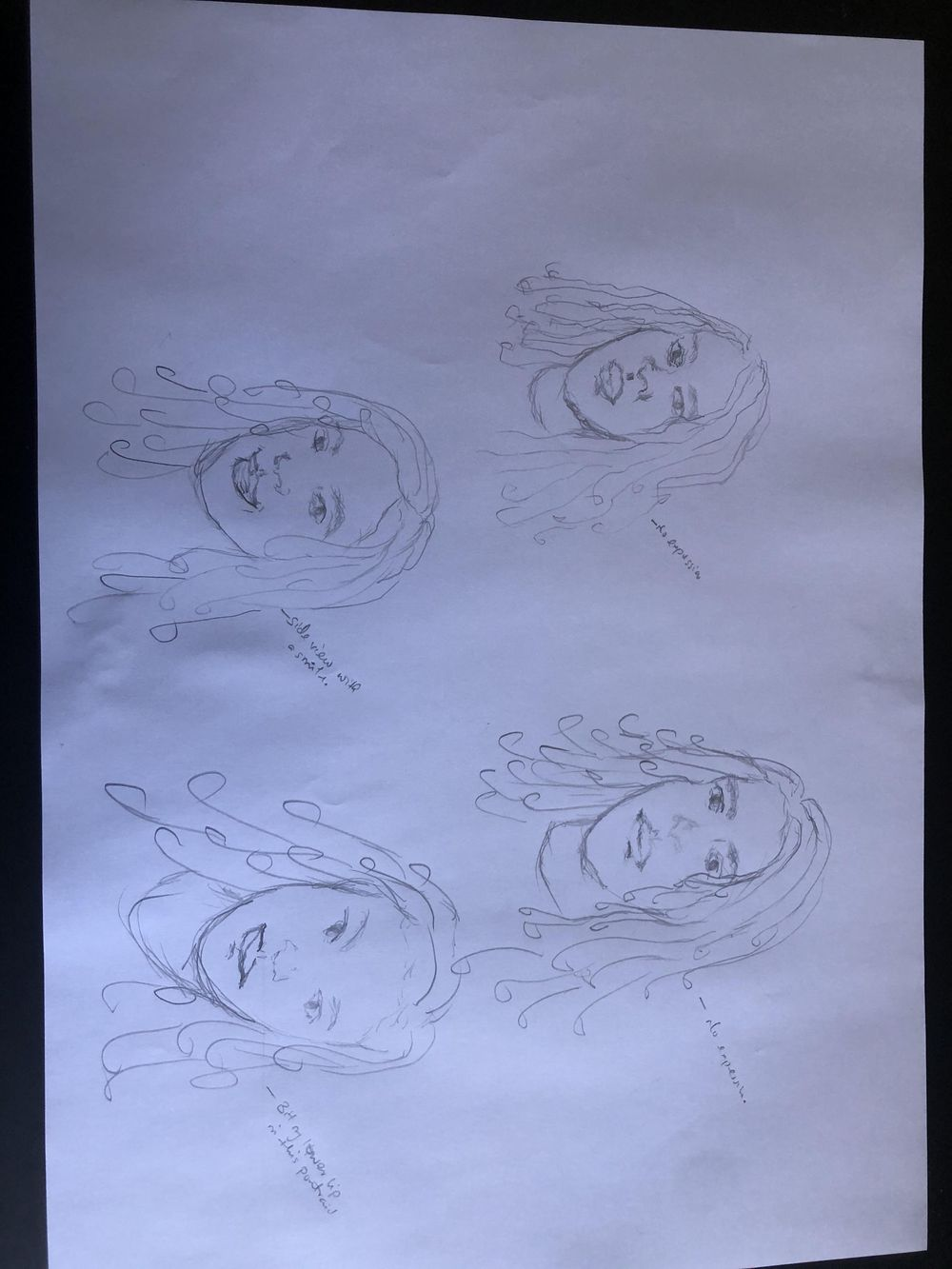 Self expressive portraits - image 1 - student project