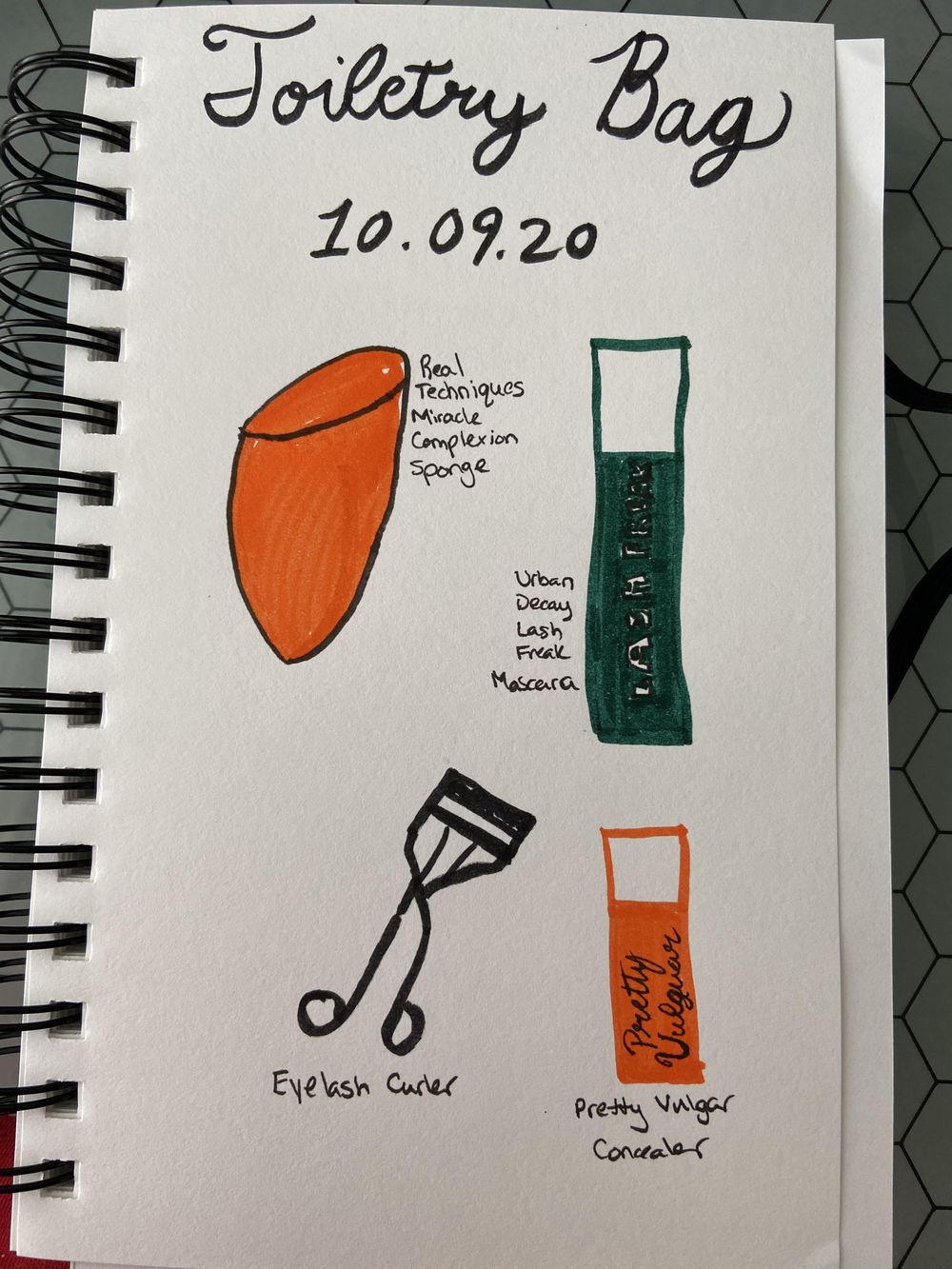 Illustrated Journaling - image 12 - student project