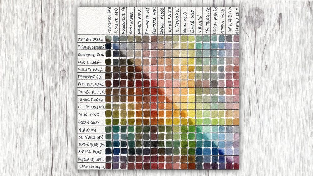 Denise's Custom Earthy Palette - image 1 - student project