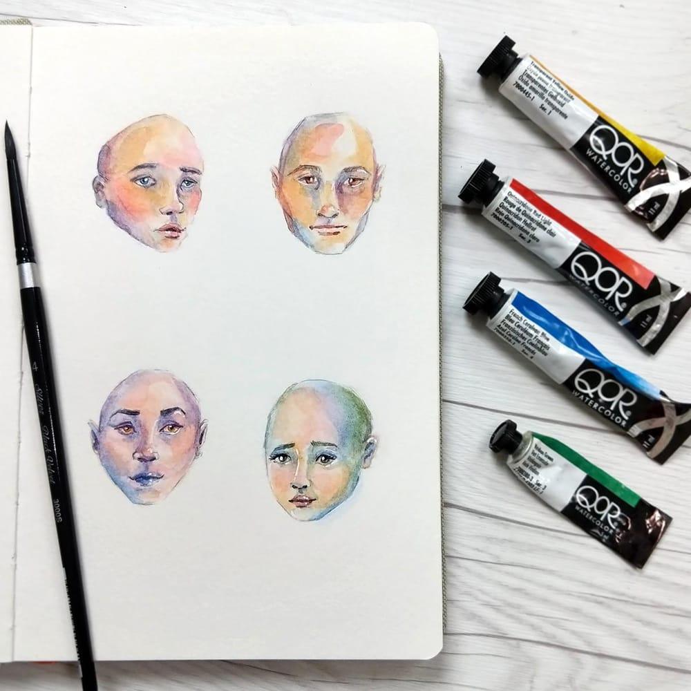 Rainbow Skin Practice - image 1 - student project