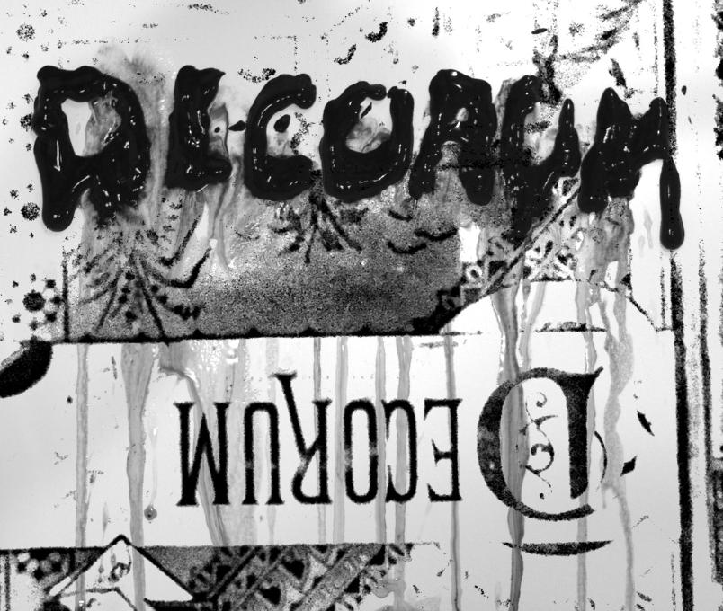 Decorum Zine - image 1 - student project