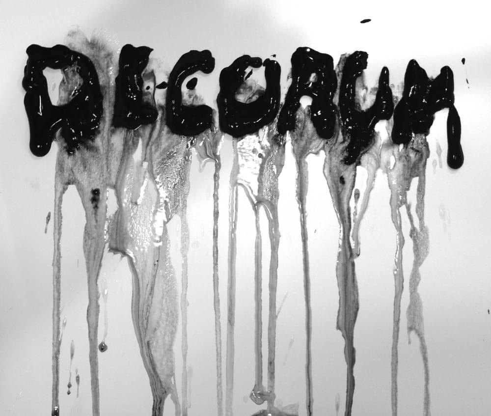 Decorum Zine - image 5 - student project