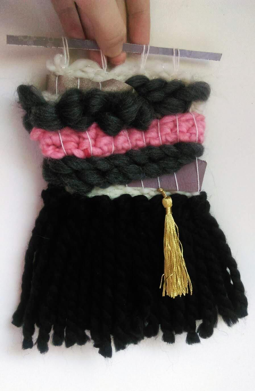 Woven Wall Hanging - image 1 - student project