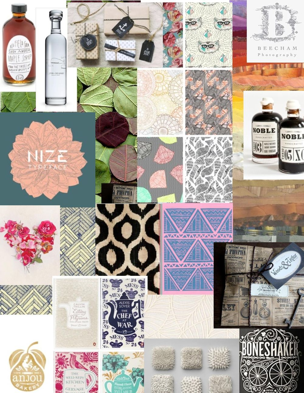 The Papercut Series Label Moodboard - image 1 - student project
