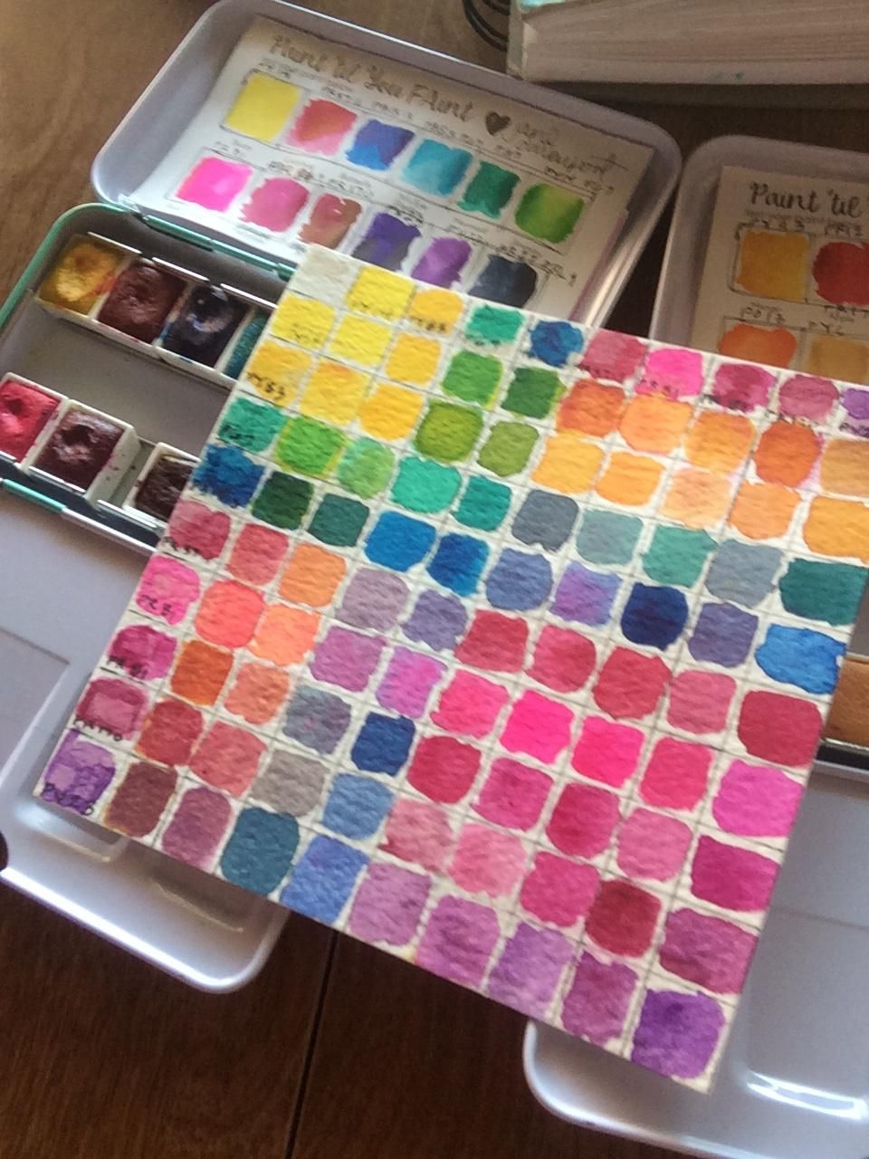 Basic Chart Jane Davenport Brights and Neutral Palettes - image 3 - student project