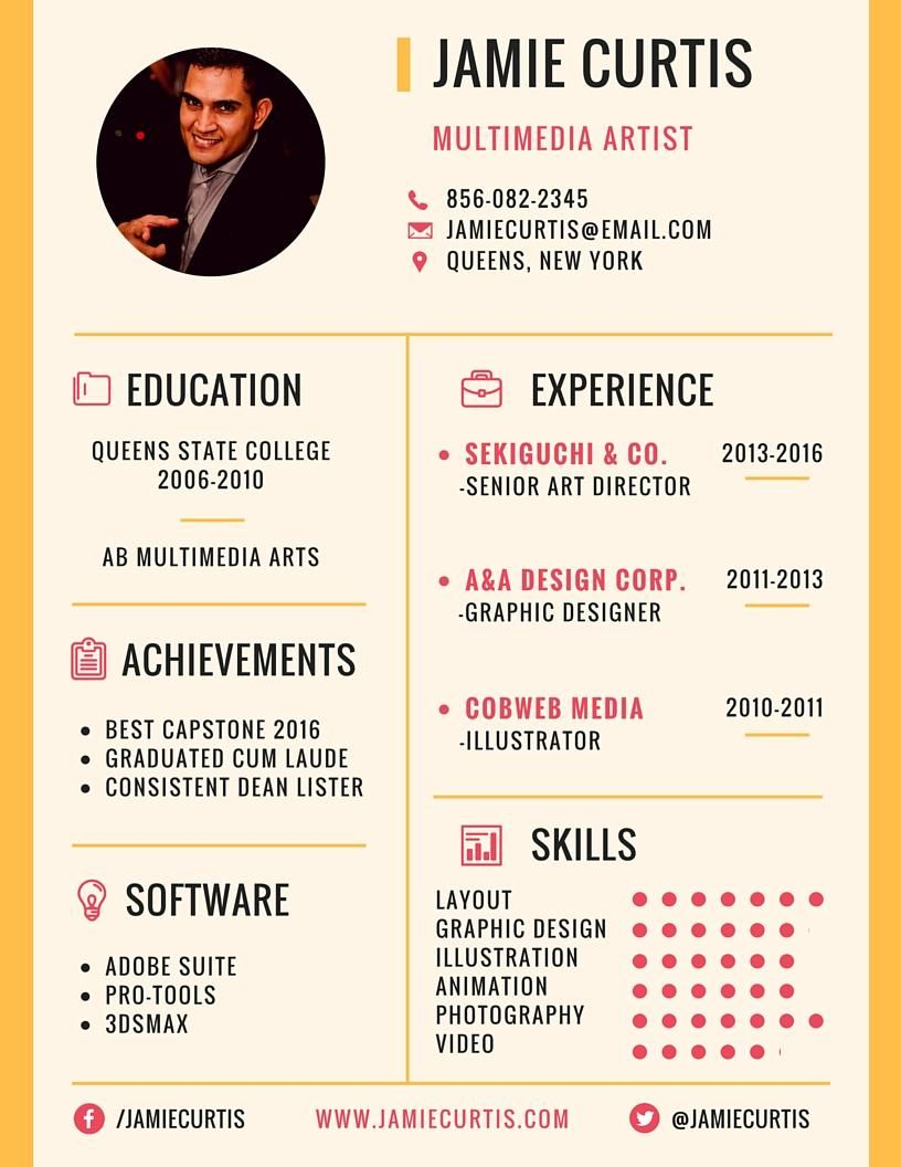 Final Project - Resume - image 2 - student project