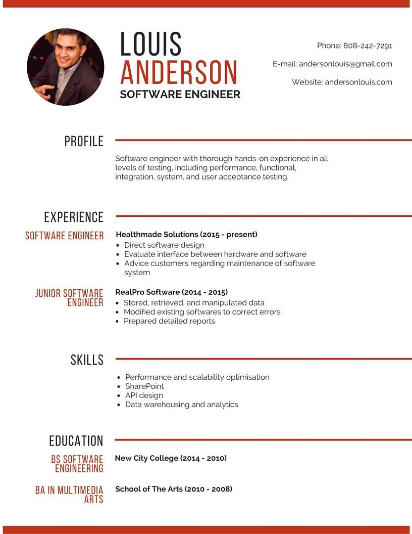 Final Project - Resume - image 1 - student project