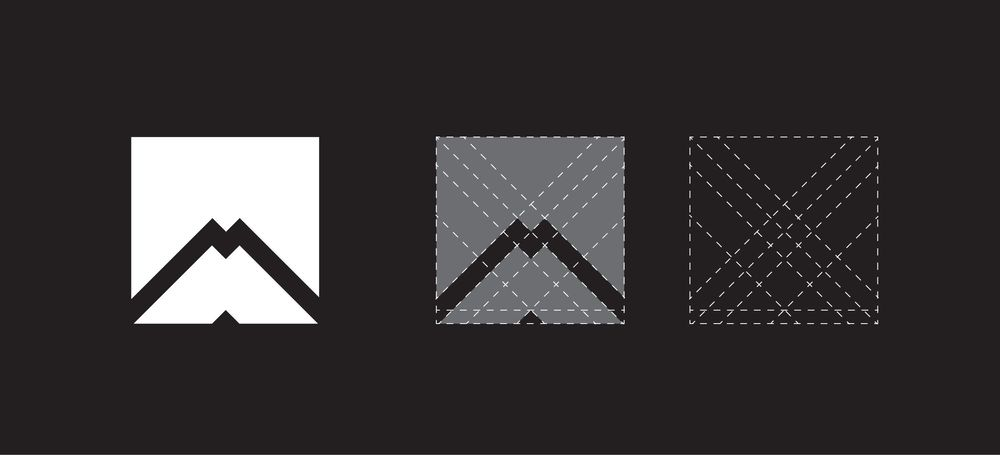M logo design - image 1 - student project