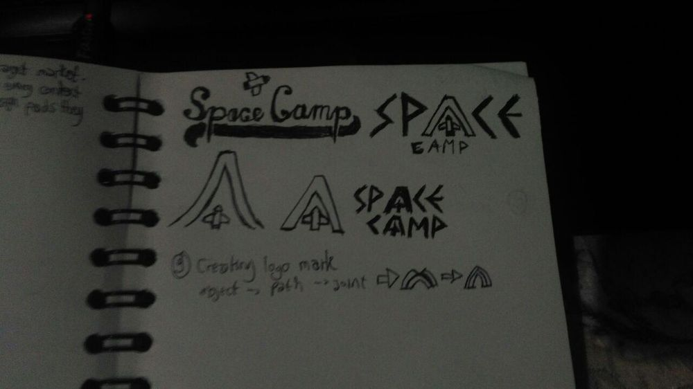 Space Camp Logo Design - image 1 - student project