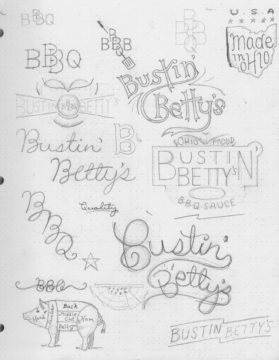 Bustin' Betty's BBQ Sauce - image 3 - student project