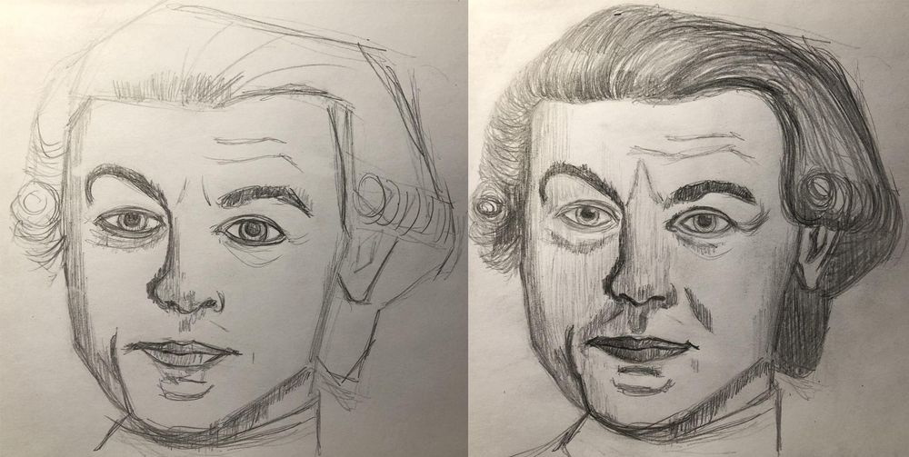 Not much resemblance unfortunately, please excuse me lookalike Count Benyovszky! - image 1 - student project