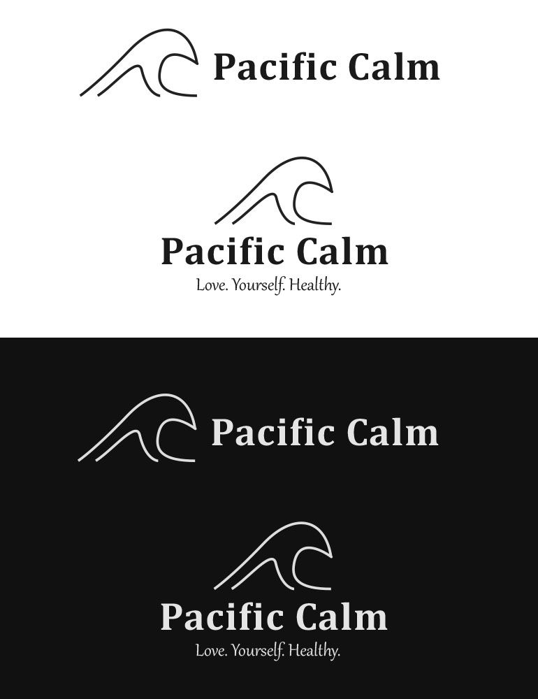 """""""Pacific Calm"""" Logo Project - image 3 - student project"""