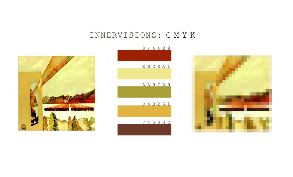 Innervisions Album Cover - image 4 - student project