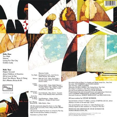 Innervisions Album Cover - image 2 - student project