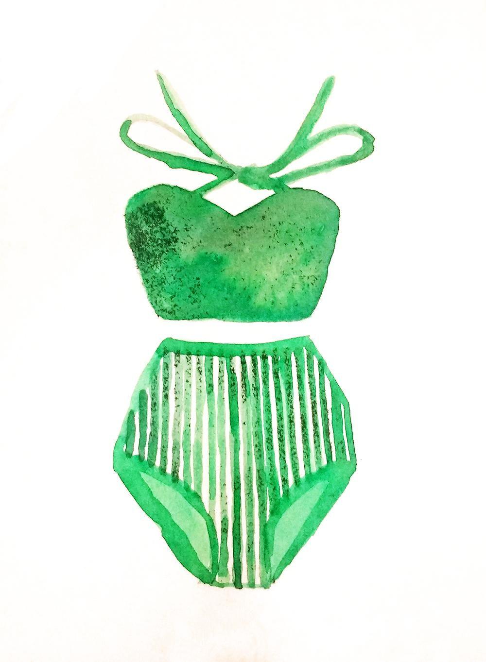 Bathing suit - image 1 - student project