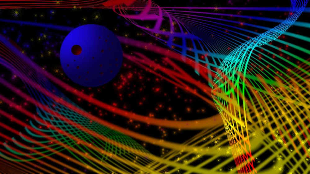 Abstract glowing backgrounds are out of this world - image 1 - student project