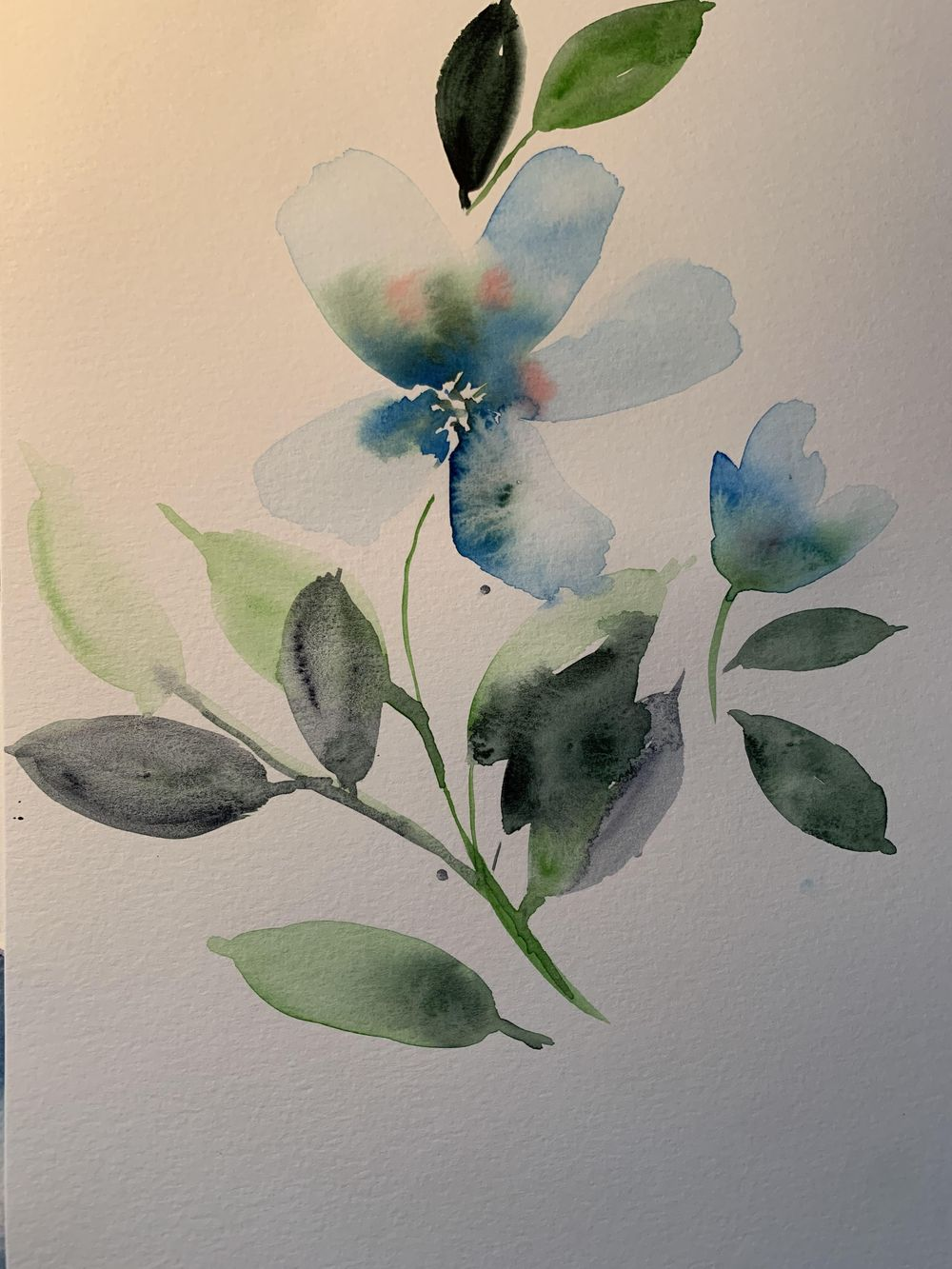 Tranquil flowers - image 1 - student project
