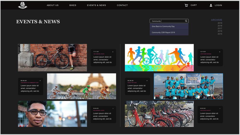 Roar Bikes - image 9 - student project