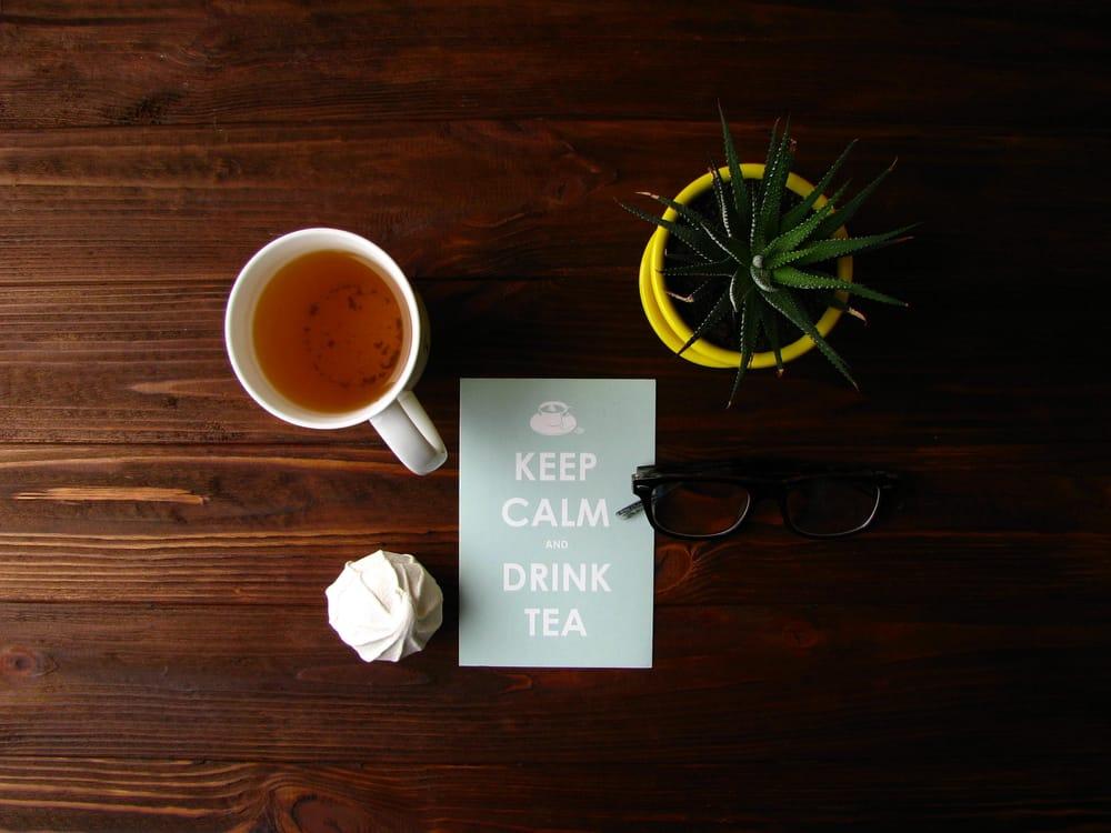 Tea flat lay - image 1 - student project