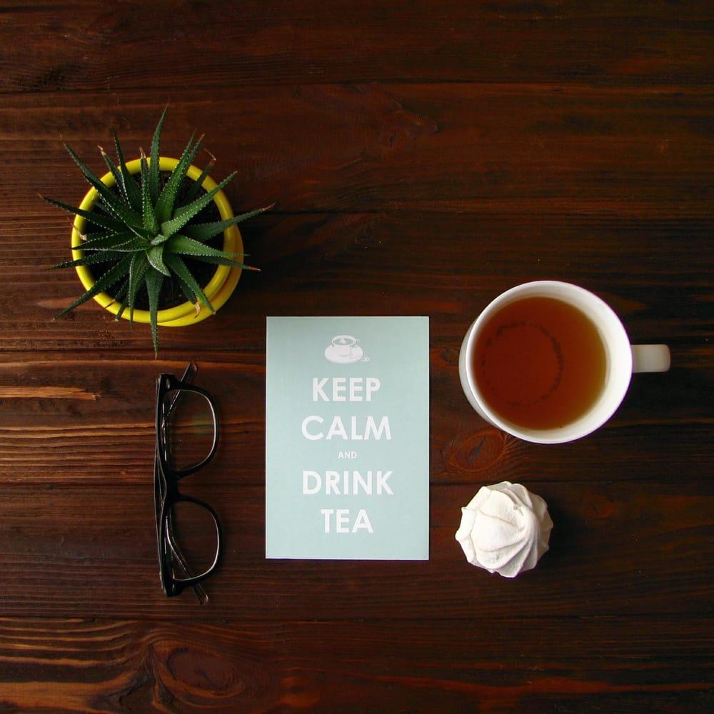Tea flat lay - image 4 - student project