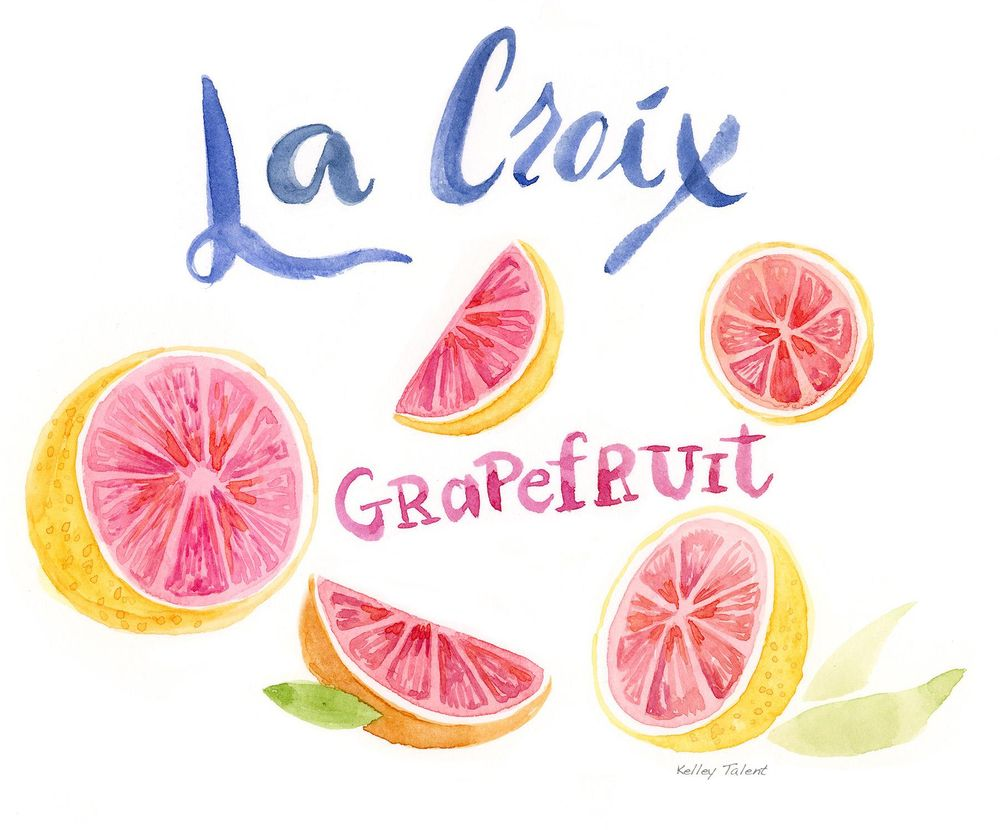 Grapefruit Watercolor - image 1 - student project