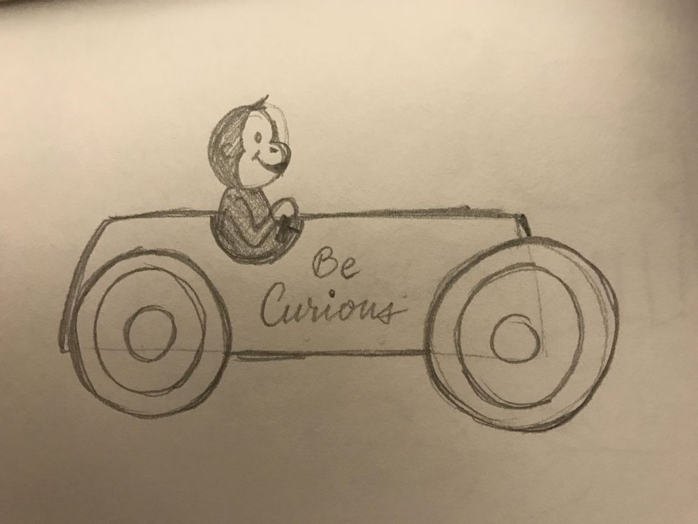 Be Curious - image 1 - student project
