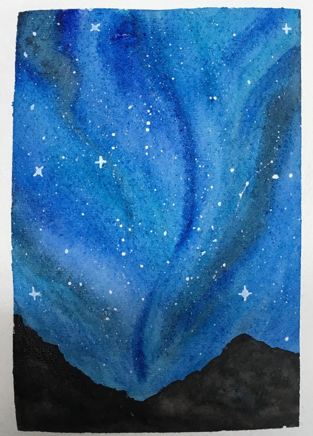 Night sky - image 1 - student project