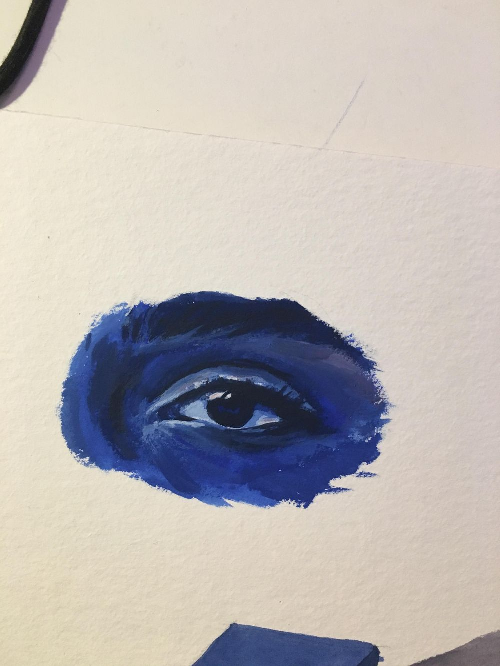 gouache eyes - image 1 - student project