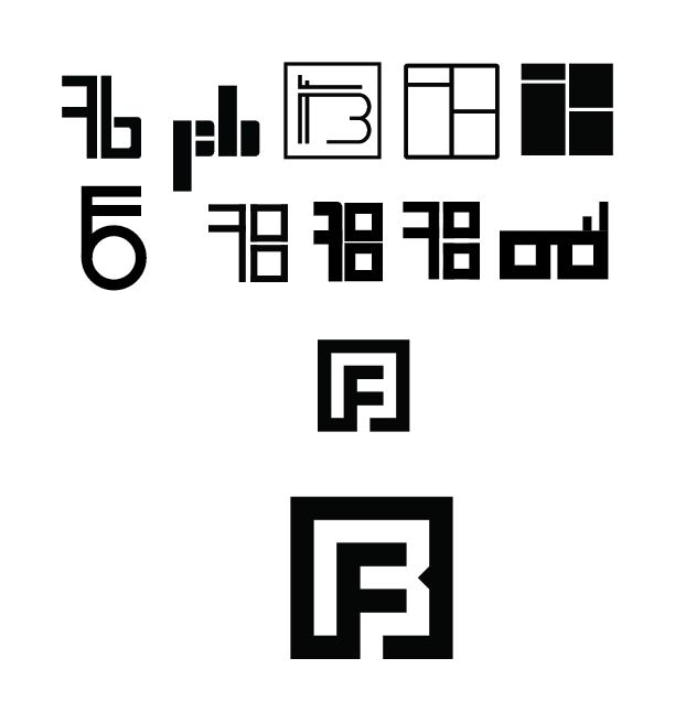 Fred Bednarski Monogram / Personal Logo - image 2 - student project