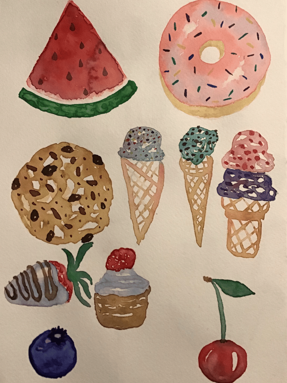 Sweets - image 1 - student project
