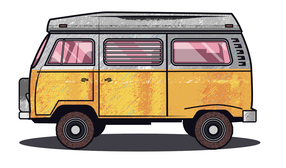 Jared's VW Bus - image 2 - student project