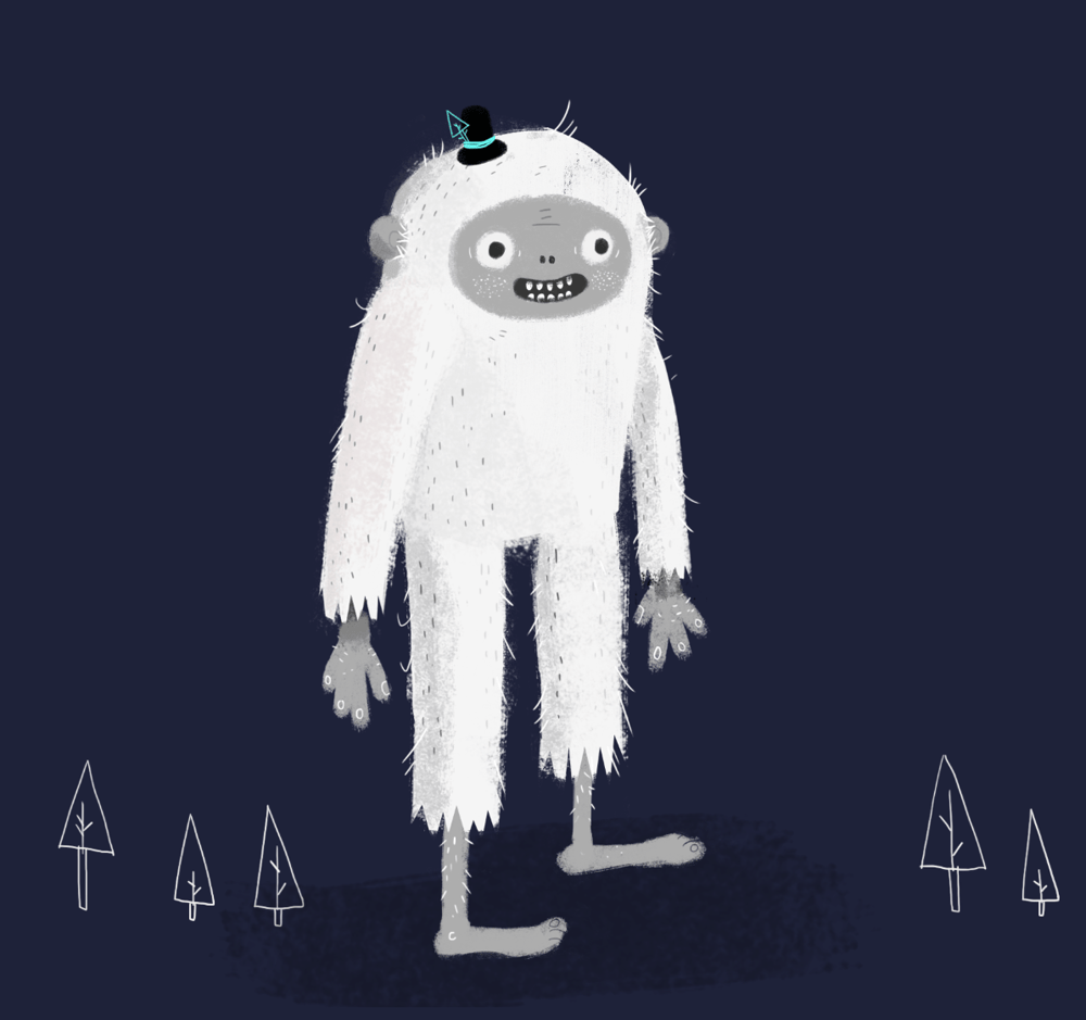 Yeti happy to see you! - image 1 - student project