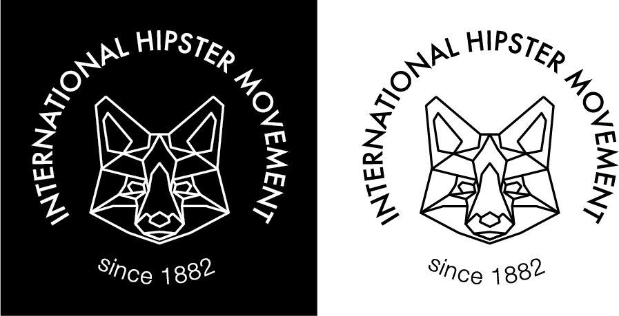 Hipster Logo - image 2 - student project