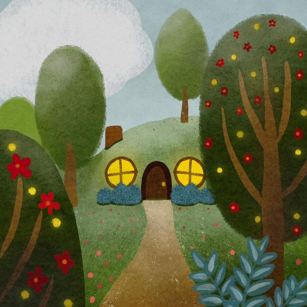 Hobbit holes - image 1 - student project