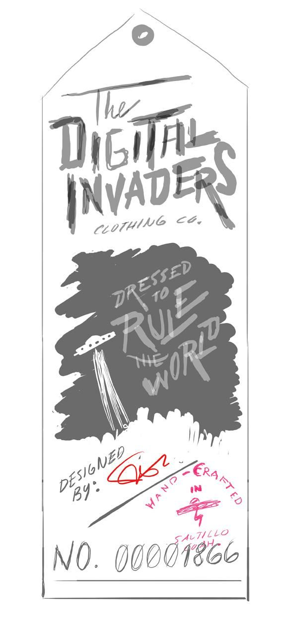 The Digital Invaders - image 3 - student project