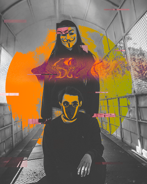 Glitchy Portraits and how to create them - image 2 - student project