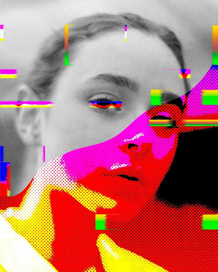 Glitchy Portraits and how to create them - image 3 - student project