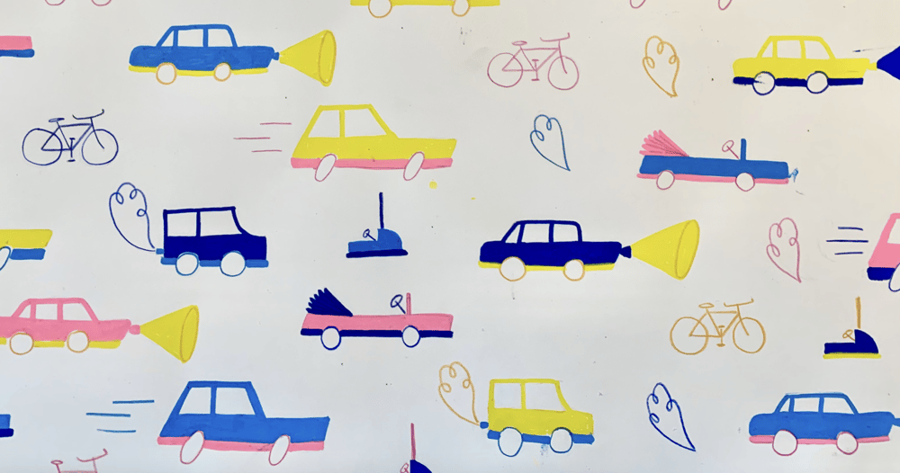 Car pattern repeat - image 2 - student project