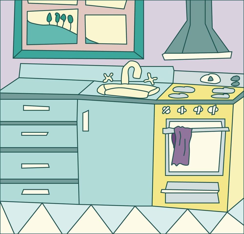 Cartoon Kitchen - image 1 - student project