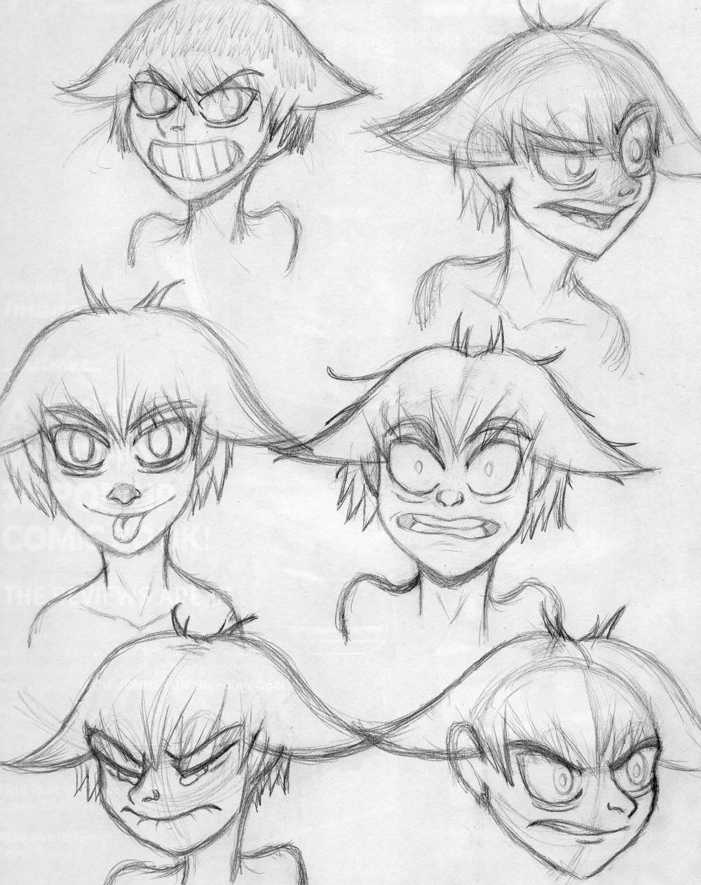 Izabel Character Emotions - image 1 - student project