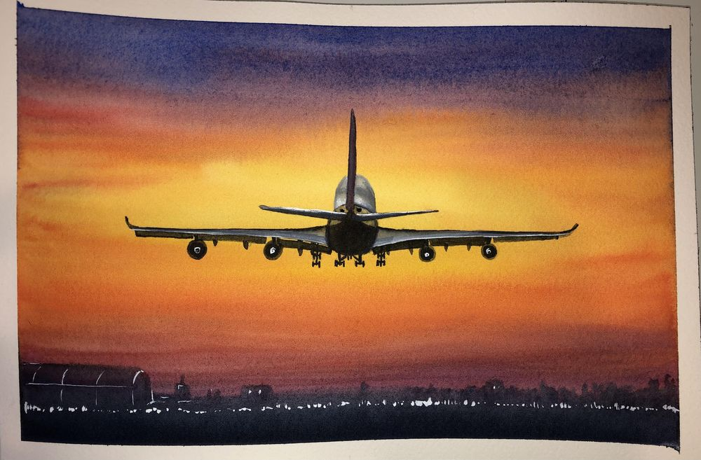 Aircraft landscapes projects - image 2 - student project