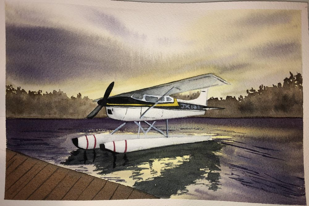 Aircraft landscapes projects - image 1 - student project