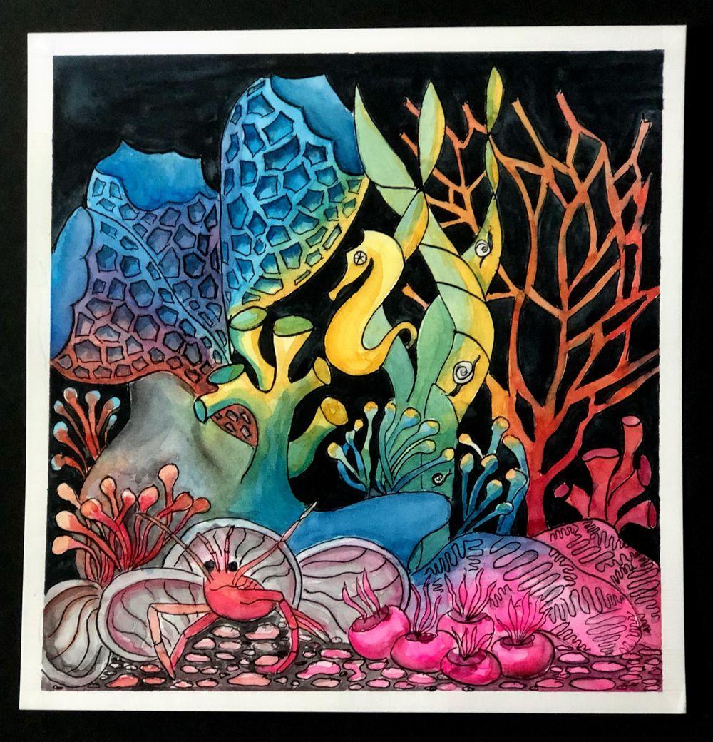 Undersea Rainbow - image 1 - student project