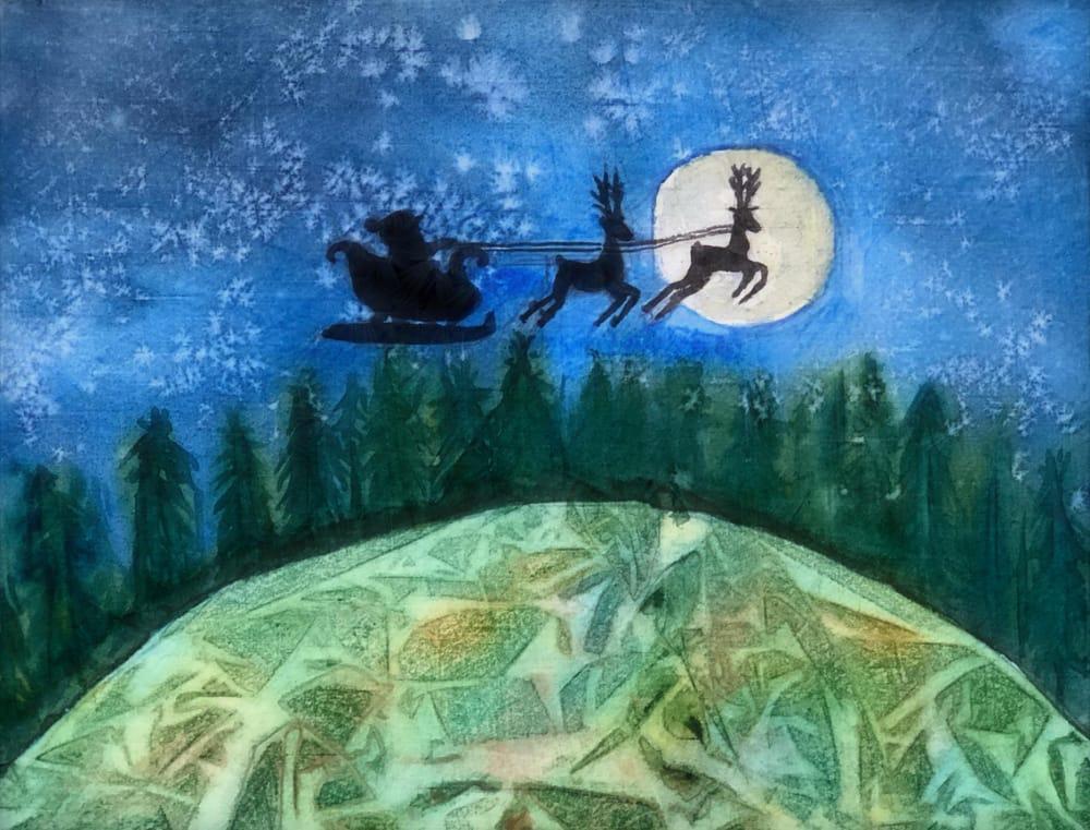 Santa - image 1 - student project