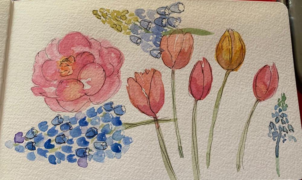 Floral Bouquet - image 3 - student project