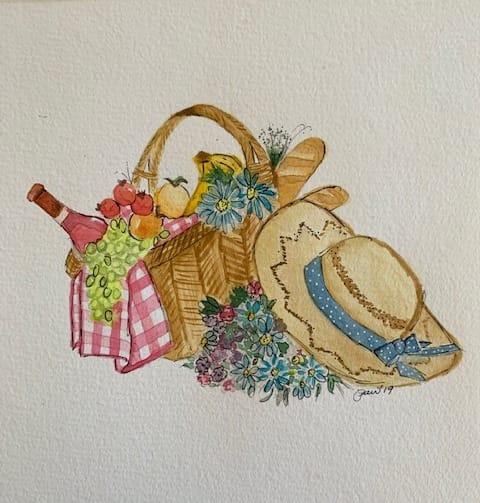 Picnic basket - image 1 - student project