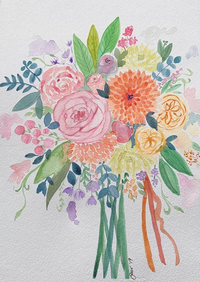 Wedding Bouquet - image 1 - student project