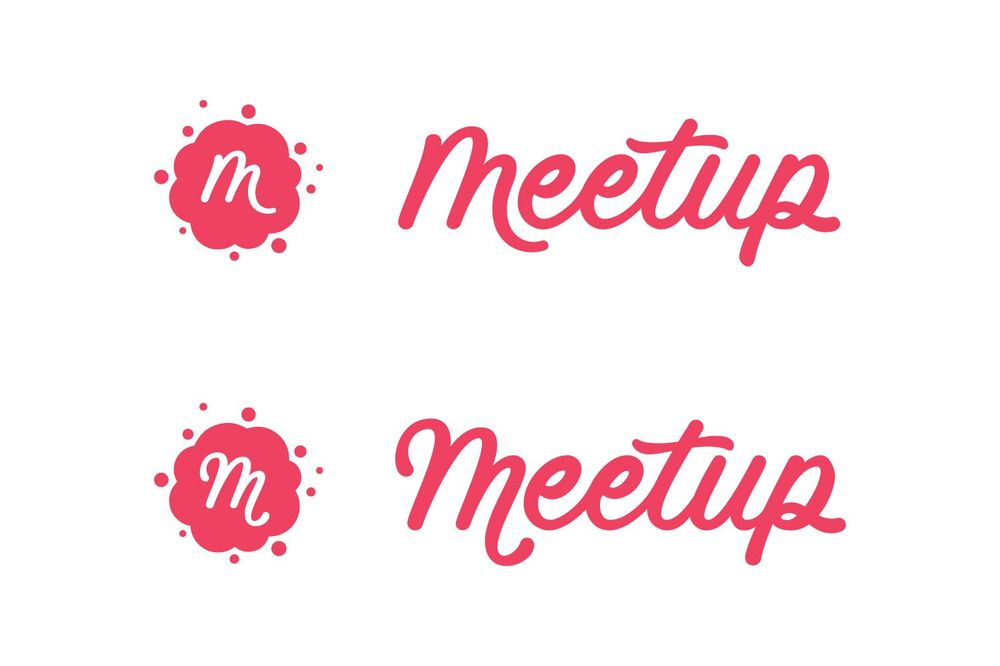 Meetup logo refresh - image 4 - student project